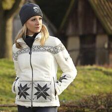** PIKEUR ** Gorgeous Etoscha Snowflake Zip up Fleece Jacket Size EU 38 - UK 10