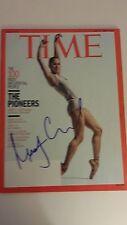 MISTY COPELAND signed Time magazine - 4-27-15 - Rare