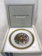 "Royal Copenhagen The Hans Ch. Andersen Plates ""The Nightingale"""