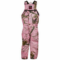 Realtree Pink 100/% Cotton Girls Daisy Sherpa Coat Berne GBJ41RTP