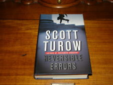 REVERSIBLE ERRORS BY SCOTT TUROW-SIGNED COPY