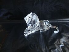 Swarovski Crystal Lion - Inspiration Africa 185410 Swan Mark