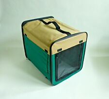 Foldable Pet Carrier Crate for Cat or Dog Medium Size