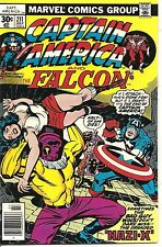 Captain America # 211 July1977 Marvel The Falcon Jack Kirby
