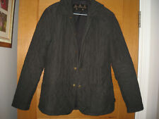 BARBOUR WOMENS BLACK QUILTED JACKET,UK 8,EUR 34
