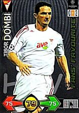 Tibor Dombi PANINI Champions League 2009/2010 09 10 Update Fan`s Favourite