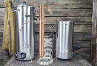 Anvil Foundry 10.5 Gal + Alcoengine Reflux Still Electric Brewing System w Pump
