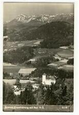 AK Gloggnitz, Schloss Kranichberg mit Rax, 1960