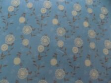 Antique Blue Shower Curtain Liner Hooks Cup Brush Holder Soap 18 Pcs Bath New