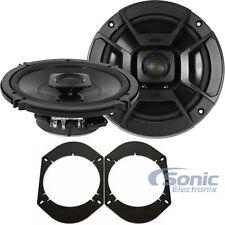 """Polk Audio DB652 DB+ 6.5"""" 200 Watt Speakers with FREE  6"""" x 8"""" Adapters"""