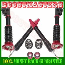 2006-2011 Honda Civic Full Coilover Suspension Lowering Kits 28 ways Damper Red