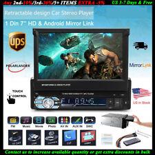 7'' 1DIN Car Radio Stereo BT USB/SD/AUX/EQ/FM/ Touch HD Screen Head Unit