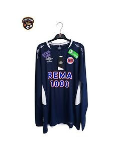 NEW Norway Football Long Sleeve Training Shirt (XXL) Umbro Player Issue Jersey