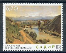 STAMP / TIMBRE FRANCE NEUF N° 2989 ** TABLEAU ART / COROT / LE PONT DE NARNI