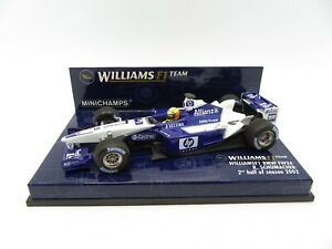 Williams BMW FW24 Ralph Schumacher #5 2nd Half Of Season 2002 MINICHAMPS 1/43