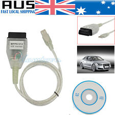 For VW AUDI BMW MPPS V13 Chip-Tuning OBD2 Car ECU USB Program Diagnostic Cable