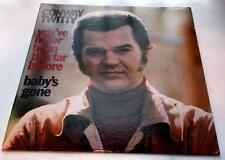 Conway Twitty You've Never Been This Far Before 1973 MCA 359 33rpm LP Strong VG+