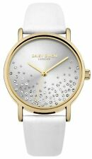 Daisy Dixon Ladies Watch Astra White Strap Sparkle Crystal Set Dial DD053WG