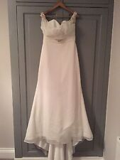 Robe de mariée Benjamin Roberts AUTHENTIQUE NEUVE T16 UK