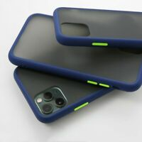 For iPhone 11 Pro Max case ShockProof Soft Phone Cover Frame Matte Hard Luxury