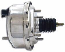 "7"" Single Diaphragm Chrome Power Brake Booster Universal Street Rod Chevy Ford"