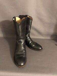 Justin Boots size 7B Dark Gray