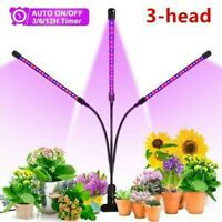 LED Plant Light Effective Cycle Timing Flower Growing Lamp for Indoor Greenhouse