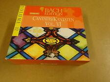 5-CD BOX BACH EDITION VOLUME 12 / CANTATAS / KANTATEN VOL. VI