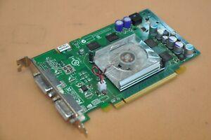 DELL XG859 NVIDIA Quadro FX 550 Graphics Video Card 128MB GDDR3 RAM 2x DVI