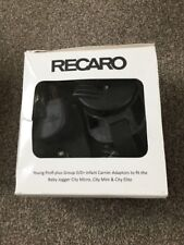 Recaro Young Profi Plus Grupo 0/0 + Adaptadores Baby Jogger City Elite Mini Micro
