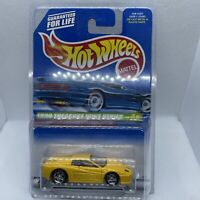 1999 HOT WHEELS TREASURE HUNT YELLOW FERRARI F512M, HW #933, VHTF, FREE SHIPPING