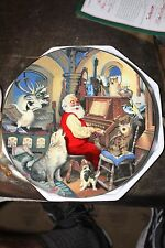 Easy Rider Hamilton Collection Plate Santa Sing Along