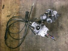 2005 polaris rmk 550 trail TWIN CARBURETORS with throttle and choke cables #78