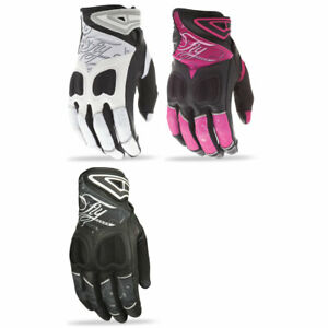 2018 Fly Racing Womens Venus Leather Motorcycle Gloves - Pick Size & Color