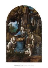 ART PRINT - Virgin of the Rocks, 1503-1506 by Leonardo da Vinci Poster 20x28