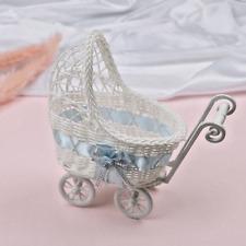 Deko Kinderwagen Rattan Design Garten Foto Dekoration Gastgeschenk Babywagen