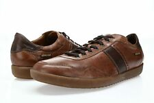 Mephisto Men's Urban LR Oxford Brown Leather Walking Shoes Fashion Sneakers 11.5