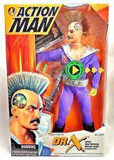 "Kenner Vintage 1995 Action Man Doctor Dr. X w/ Brain Laser Eye 12"" Figure MIB"
