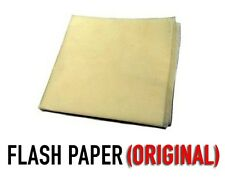 Flash Paper - fire magic tricks, prop supply