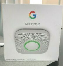 Google Nest Protect Smoke/Carbon Monoxide Alarm, 2nd Gen, Battery (S3000BWES)