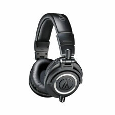 Audio Technica ATH-M50x Professional Studio Monitoring Headphones Black