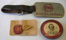 1940s TWA Stewardess Wing and Grouping - LGB - PB