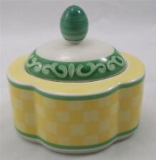 Villeroy & and Boch SWITCH SUMMERHOUSE sugar bowl with lid