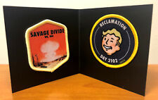 FALLOUT 76 PATCH SET Savage Divide & Reclamation LootCrate Loot Gaming Exclusive