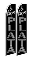 Se Compra Plata  King Size Polyester Swooper Flag pk of 2