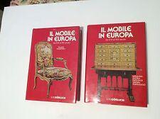 ANTIQUARIATO Il mobile in Europa  2 volumi