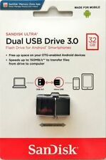 SanDisk 32GB OTG Ultra Dual microUSB 32G USB 3.0 Pen Drive SDDD2-032G Retail