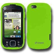 AMZER Silicone Skin Jelly Case for Motorola CLIQ XT MB501 - Green