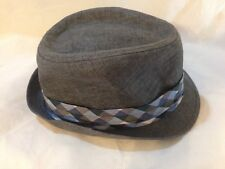 Shell Gray Blue And White Hat Cap Size L/XL Stylish Men's Hat