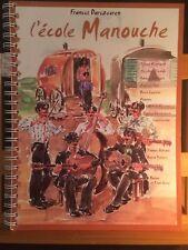 Francis Darizcuren L'école Manouche méthode guitare EmF